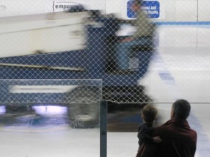 Watching the Zamboni