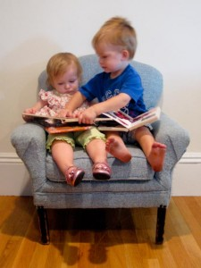 Avonlea Jane & Justin read together