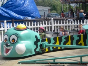 On the Bouncy Bug ride