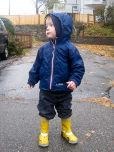 Ready to stomp in puddles