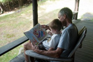 Reading with Granddad