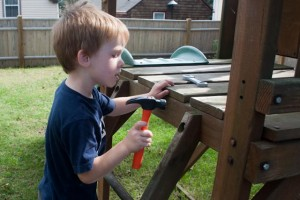 Fixing the playset