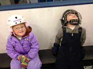 In the penalty box (with Violet)