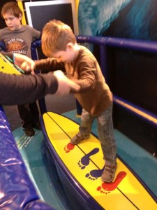 Surfing (again, at the Franklin Institute)