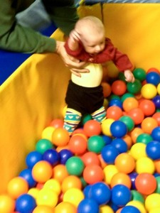 Not sure about the ball pit...