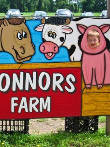 This little piggy! (At Connors Farm)