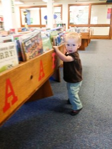 Library baby!