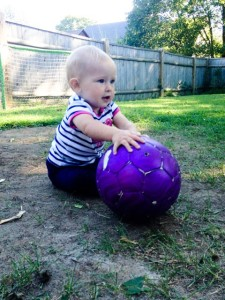 Future soccer star?