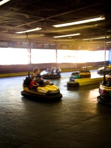 Bumper cars! (at York Zoo)