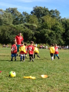 Fall soccer (J is #45)